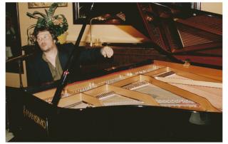 Chano Domínguez al piano del Novelty