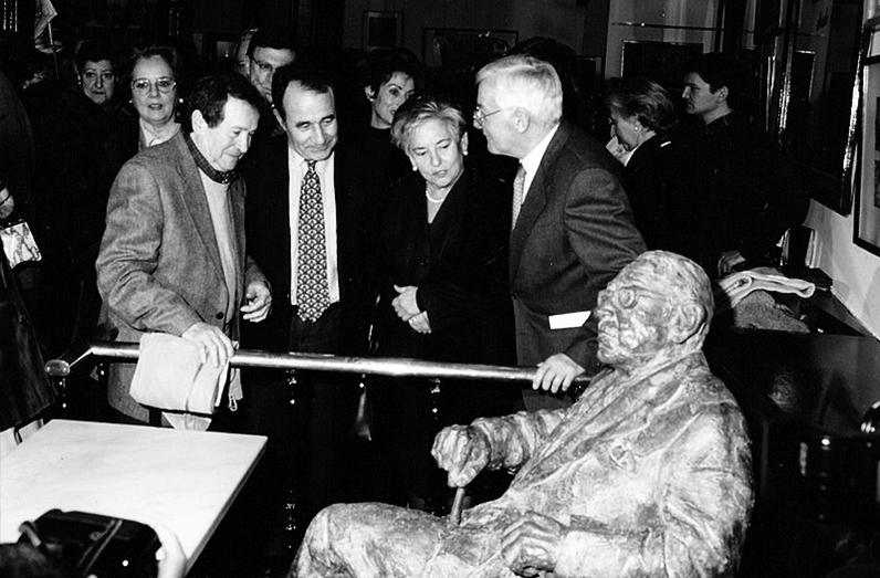 Inauguración estatua