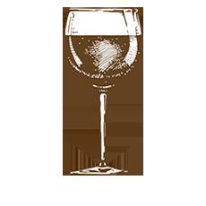 ilustración copa de vino