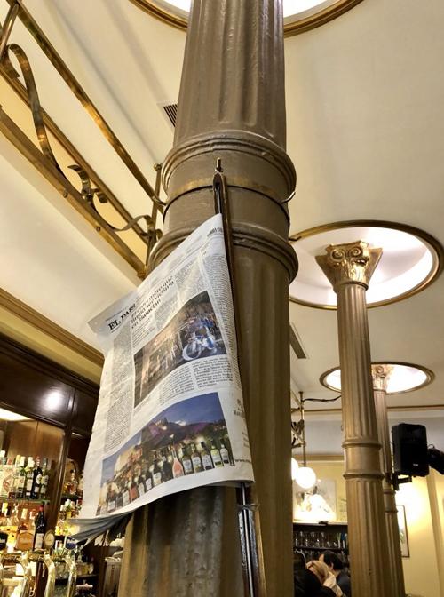 detalle columnas novelty con prensa